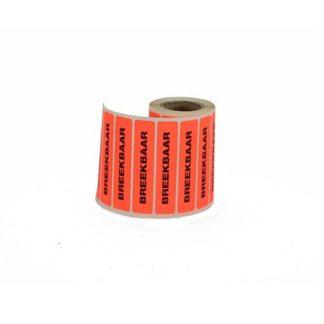Etiket-breek-fluor-oranje