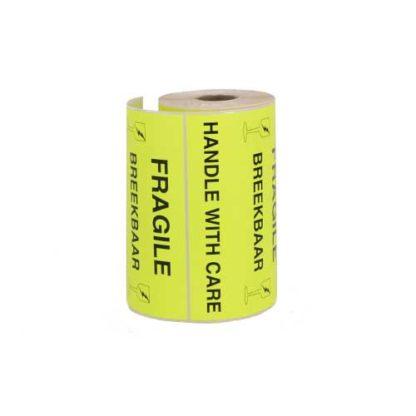 Etiket-breekbaar-fluor-geel